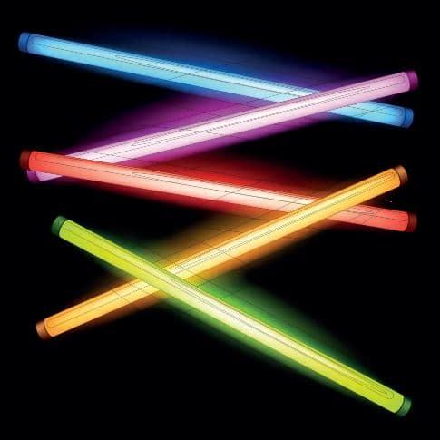 Farklı asal gazlarla hazırlanmış lambalar