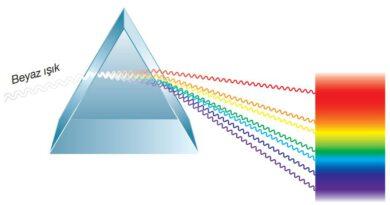 Beyaz ışığın sürekli spektrumunun eldesi