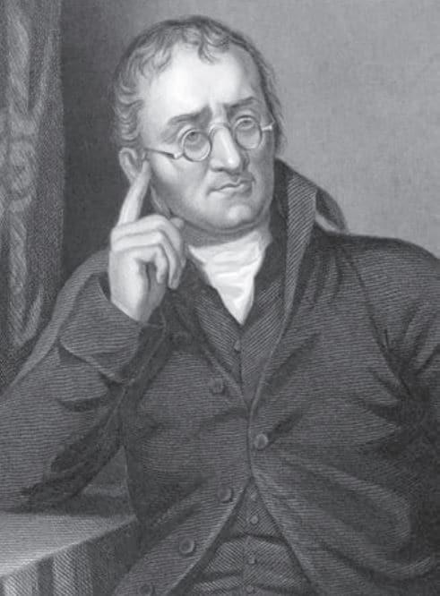 John Dalton (1766-1844) İngiliz kimyager ve fizikçidir. Geliştirdiği atom modeli ve renk körlüğü (Daltonizm) hakkında yaptığı çalışmalar ile tanınmıştır.