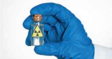 Herkesin radyoaktif madde olarak anlayabileceği bir temel uyarı işareti.